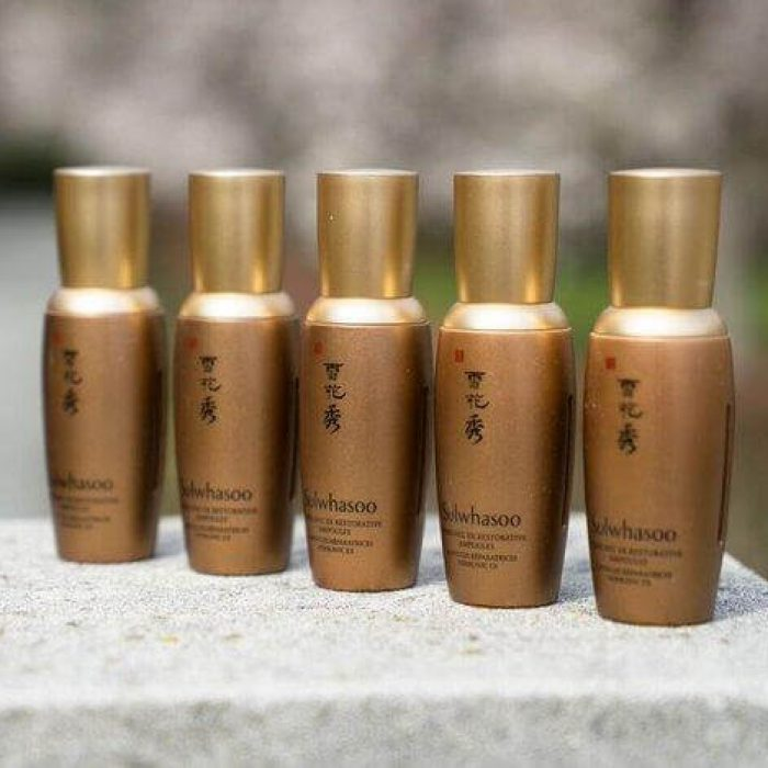 Bộ Tinh Chất Phục Hồi Da Sulwhasoo Herblinic Restorative Ampoules