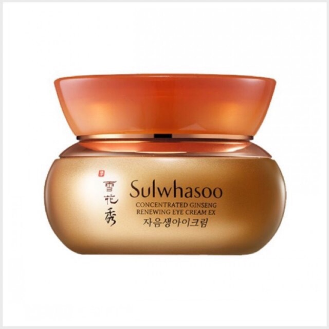 Kem Dưỡng Vùng Mắt Sulwhasoo Concentrated Ginseng Renewing Eye Cream EX