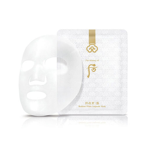 Mặt nạ dưỡng trắng Whoo Gongjinhyang Seol Radiant White Ampoule Mask