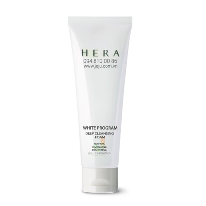 Sữa rửa mặt HERA White Program Deep Cleansing Foam 50ml