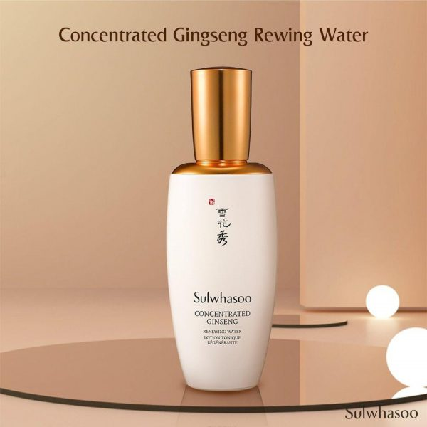 Toner Chống Lão Hóa Sulwhasoo Concentrated Ginseng Renewing Water